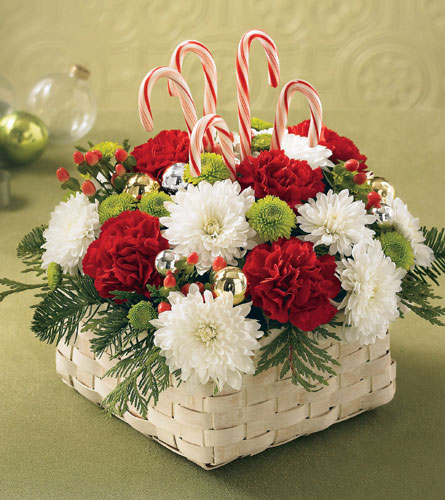 Colours of Christmas Basket