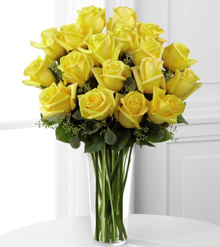 Deluxe Yellow Rose Bouquet