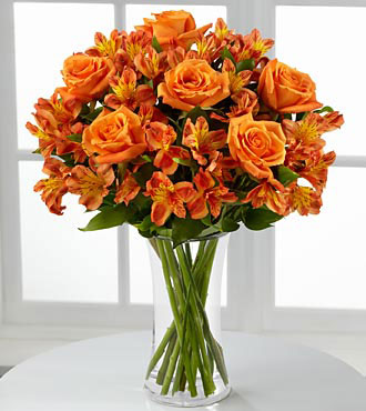 Orange Burst Bouquet