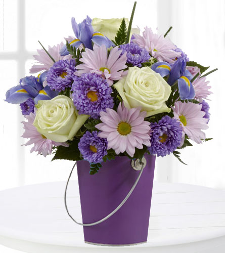 Colour Your Day with Tranquility Bouquet