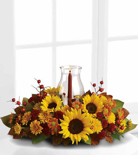 Sunflower Centrepiece